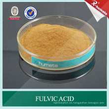 Fertilizante orgánico soluble Ácido fúlvico con muestras gratuitas