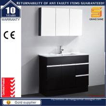 Neuer Entwurfs-Fußboden-stehender Badezimmer-Schrank mit wahlweise freigestelltem Spiegel-Schrank