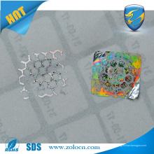Etiquetas de holograma anti-falsas etiqueta 3D / etiqueta
