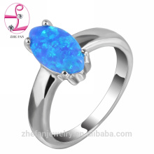 Forme el anillo chapado en oro puro de la piedra preciosa del diseño de la piedra preciosa del anillo 18K de la joyería