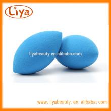 Custom size blue make up sponges facial puff