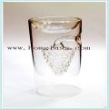 Glass Wine Bottle/Liquor Glas Bottle/Spirits Bottle/Castors/ Apothecary Jar