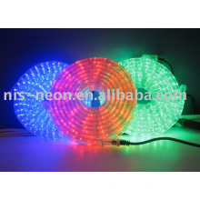 LED 3 wire flat rope light