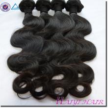 Cabelo brasileiro virgem de alta qualidade cabelo humano não processado fábrica de cabelo