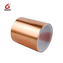 fita de folha de cobre de resistência a altas temperaturas