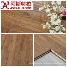 AC3 / AC4 Impermeável (U-groove) Onda em relevo superfície de carvalho Laminate Flooring (AB9998)