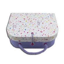 Custom Handmade Paper Cardboard Suitcase Box
