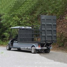 EXCAR 2 Seater transport électrique chariot de golf à vendre voiture buggy électrique