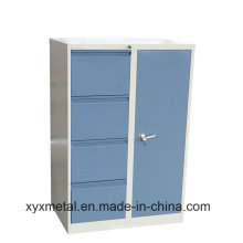Office Furniture Metal Cabinet 2/3/4 Steel Drawer Cabinet