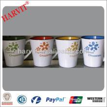 Sérigraphie Cafe Coffee Drinkware V Shape Cup Mug