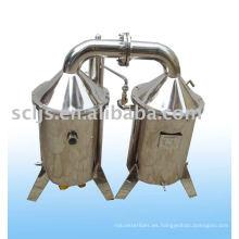 Destilador de agua de laboratorio eléctrico DGJZZ-50