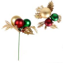 Decorações de grinaldas de natal escolhem picaretas decorativas de árvores de natal
