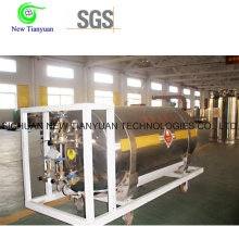 200L Nominal Capacity 500mm Diameter LNG Vehicle Tank Cylinder