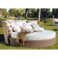 Outdoor Rattan New Design Sunbed