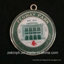 Productos con esmalte suave Ronda Fenway Park Medal