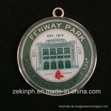 Produkte mit weicher Emaille runden Fenway Park Medaille