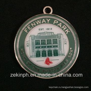 Продукты с мягкой эмалью круглые Медали Фенуэй Парк