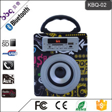 BBQ KBQ-02 5W 800mAh Guangdong 3inch 5W Speaker Driver Wireless Speaker for TV