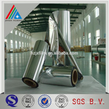 Chemical treated Plastic metallic PVC film lamination