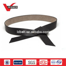 Fancy ladies leather ribbon belts