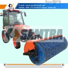 Balayeuse de neige de tracteur, rouleau de brosse de neige