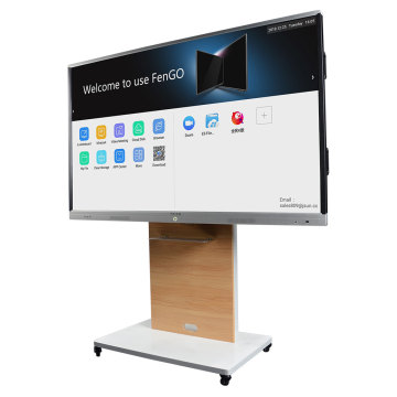 Interaktiver LED-Flachbildschirm mit Touchscreen-Whiteboard