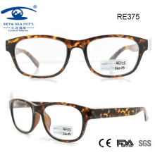Fashionable Plastic Reading Glasses for Woman Man (RE375)