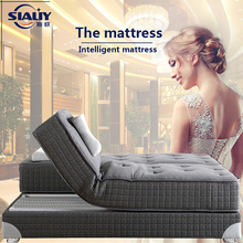 Pure Grey Latex Electric Adjustable Mattress