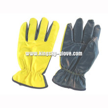 Nitrile Laminated Full Acrylic Pile Winter Glove-5403. Yl