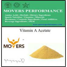 Alta qualidade de vitamina pura: vitamina a acetato com bom preço
