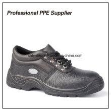 Zapatos de seguridad de construcción baratos de inyección de PU
