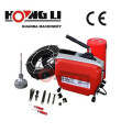 HONGLI D150 sink plunger drain snake cleaning machines for sale