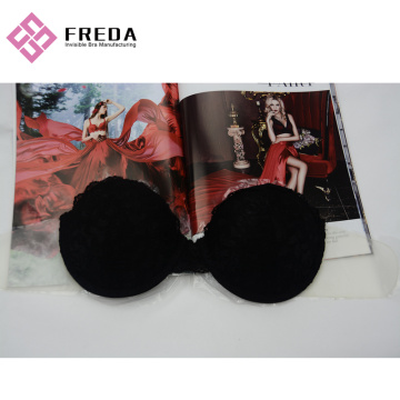 Lace Renda Penuh Strapless Sticky Bra