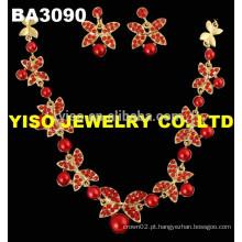 Jóias de moda conjunto de jóias de casamento