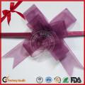 Прекрасный фиолетовый ПП Бабочка тянуть лук для подарочная упаковка