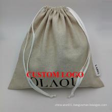 jute jewelry pouch jute bag wholesale