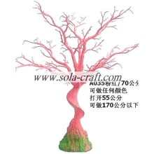 Fast delivery for for Dry Tree Branches Without Leaves Pink Color Party/Holiday Wish Tree For Wedding Reception 70cm For Décor  export to Nicaragua Wholesale