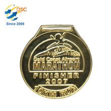A venda superior da fantasia original do projeto faz a medalha militar dos esportes baratos do metal