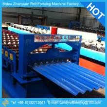 Machine de fabrication de carreaux de toiture, machine de profilage de toiture, machine à fabriquer des panneaux de toiture en aluminium