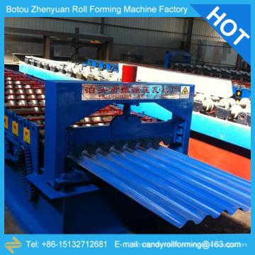 Máquina de la azotea corrugada, hoja de la azotea ondulada que hace la máquina, hoja de hierro corrugado que hace la máquina