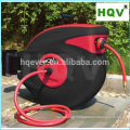 A18 Retractable air hose reel mountable with PP plastic case auto rewind