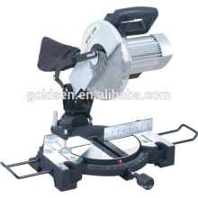 "Low Noise 255mm 10 ""Power Electric Aluminium Wood Cutting Cut Off Machines-outils Silent Motor Miter Saw"