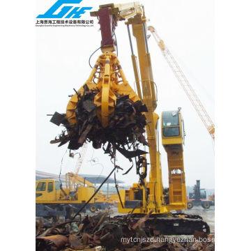 Excavator Hydraulic Multi-Peel Grab for Handling Scrap Metal, Waste Lump and Lump Products