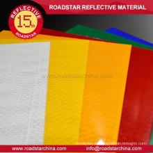 Material durable de cubrir reflexivo de frente alta