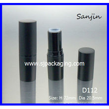 simple Lipstick tube Cylindrical Lipstick tube packaging cosmetics cosmetics package matte black lipstick tube