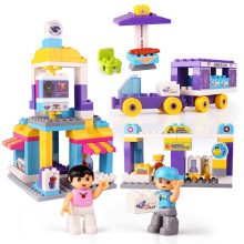 DIY City Theme Building Blocks Educational Toys