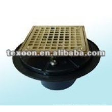 brass drain body pump fittings for floor Conform to ISO9000