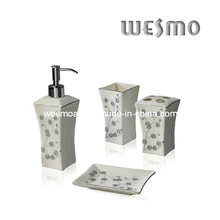 Top-Grade Porcelain Bath Set (WBC0471A)