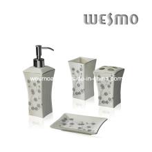 Conjunto de banho de porcelana Top-Grade (WBC0471A)