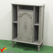 Nueva idea de diseño pintado a mano muebles franceses del país gabinete